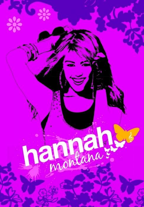 Covor Disney model Hannah Montana 8