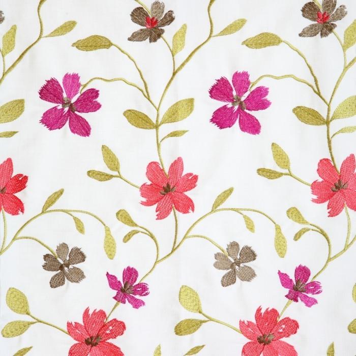 Draperie model floral